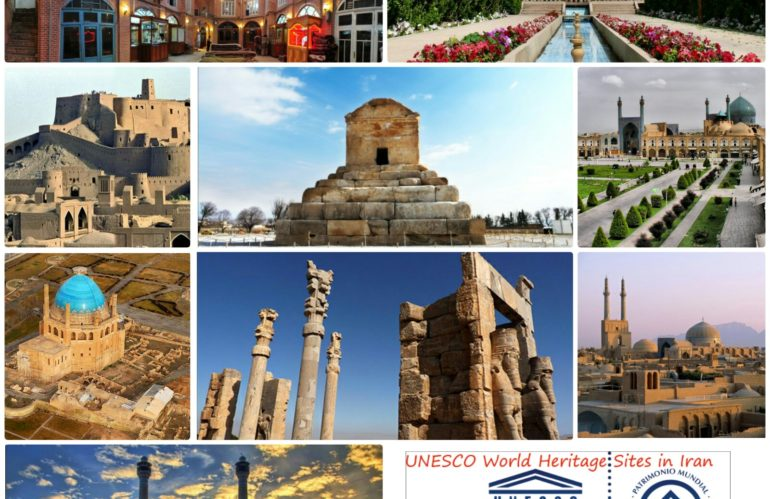 UNESCO registered sites in Iran